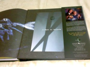 inside back cover of The Complete X-Files