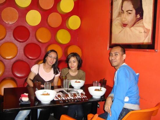 inside Cafe Bola