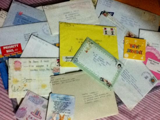 letters & mementoes