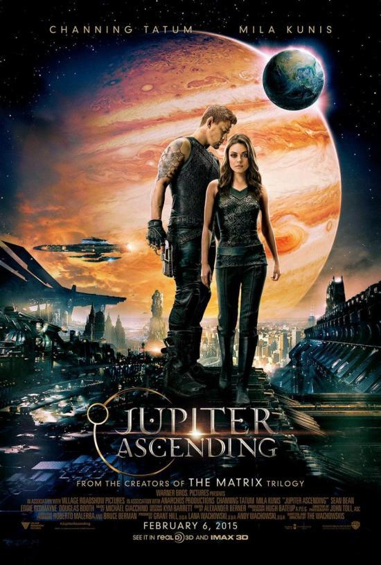 Jupiter Ascending poster