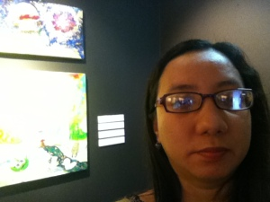selfie @ Art Fair Philippines 2015
