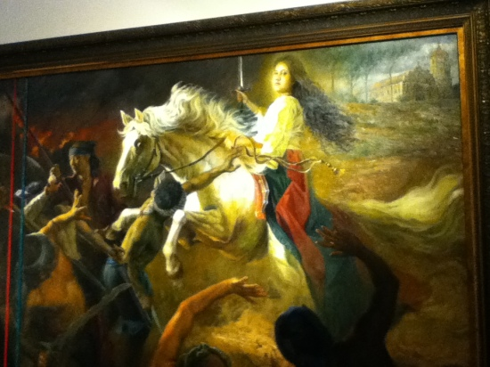 """The White Horse of St. Catherine"" by Romulo Galicano"