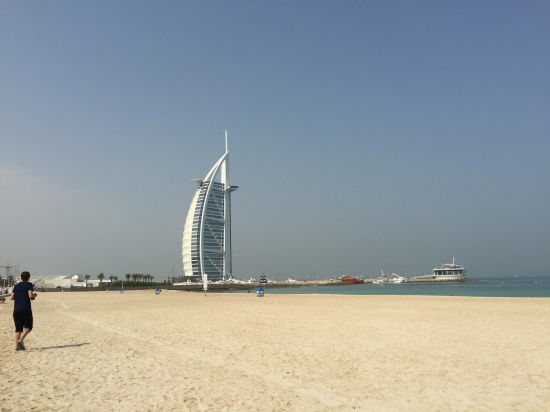 Shopping crashing waves for Burj al arab reservation