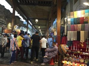 textile souk in Al Fahidi