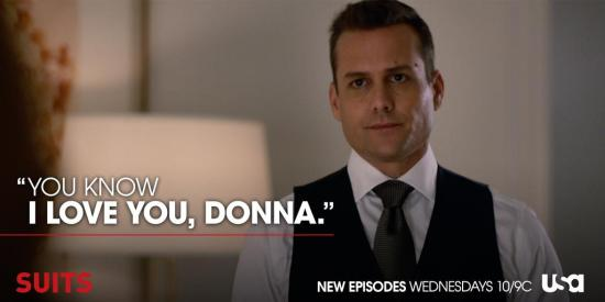 Harvey loves Donna_Suits