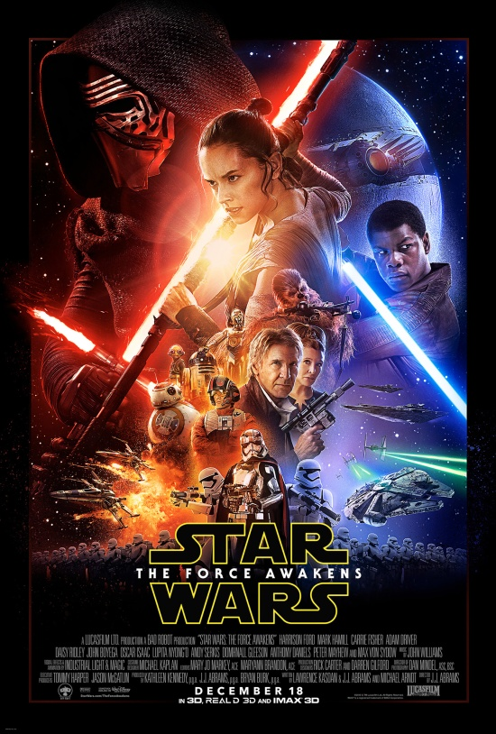 Star Wars_TheForceAwakens poster