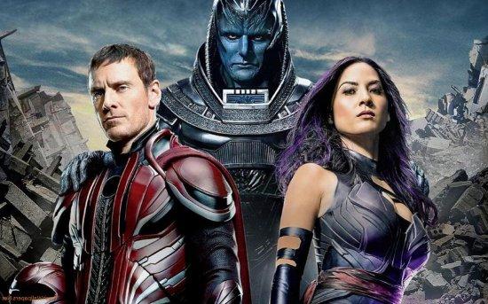 Magneto, Apocalypse and Psylocke