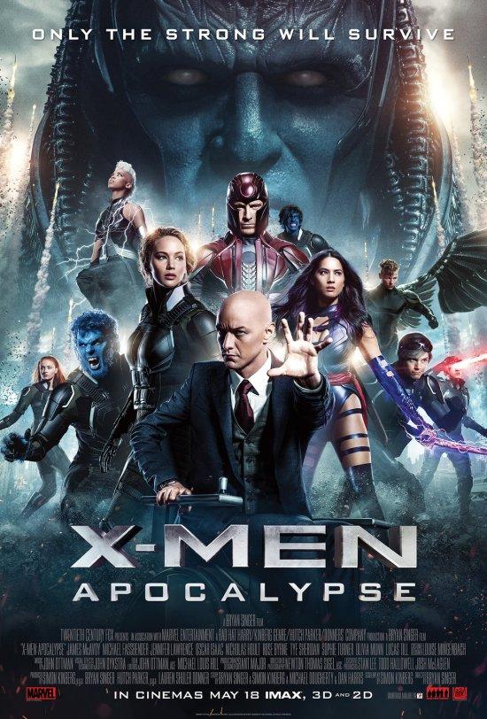 X-Men_Apocalypse poster