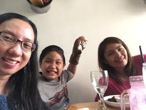 Weena, Miko & Jess at Miao Cat Cafe