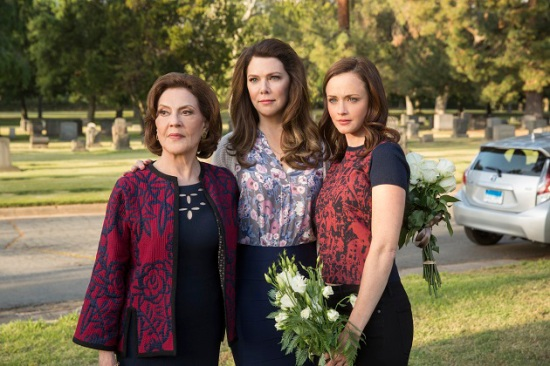 From left: Emily, Lorelai and Rory Gilmore